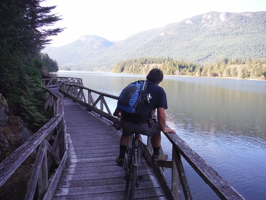 Powell River, Canada: going clockwise
