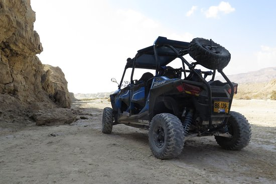 Dead Sea Region, Israel: Motor ADVENTURE in the Dead Sea with Wild-Trails!!!