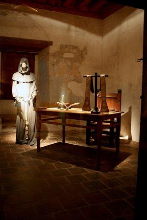 Tzintzuntzan, Mexico: Así lucía una de las celdas del prefecto cuando el convento se encontraba en su apogeo.