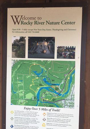 Rocky River Reservation: BEAUTIFUL WOODED TRAILS