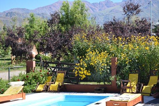 Los Chacayes, Argentina: Vista parcial de una de las piscinas