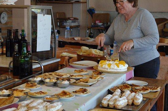 Vic-en-Bigorre, Frankrig: Excellents desserts à volonté