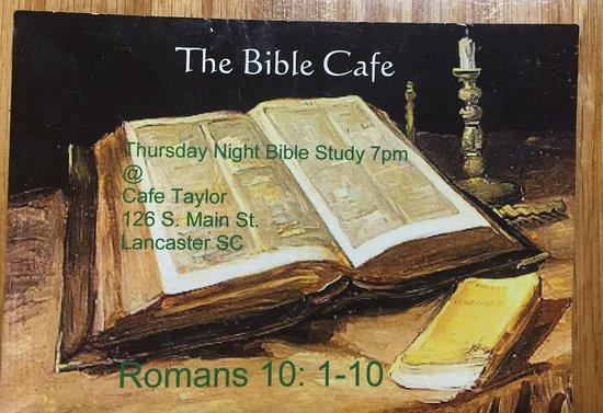 Lancaster, Carolina Selatan: Bible study times