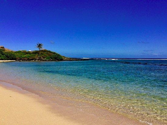Kaunakakai, HI: Nice sand.