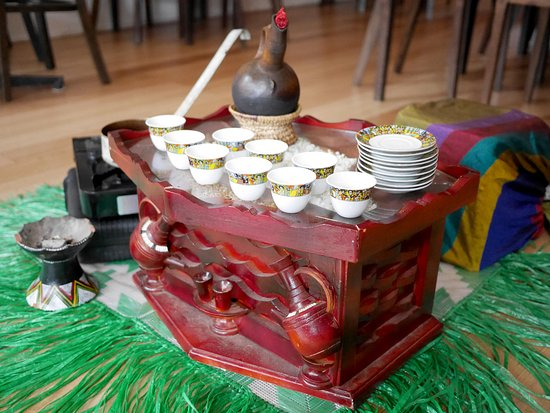 Traditional Coffee Ceremony Picture of Sabas Ethiopian Restaurant
