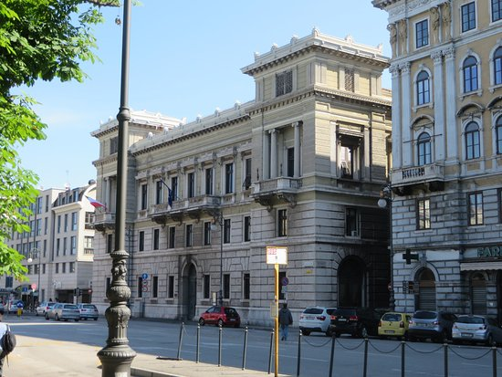 Palazzo Economo a Trieste