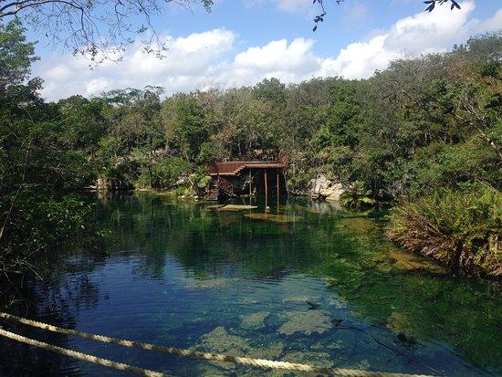 Yucatan, Mexiko: Cenote Jardin del Eden