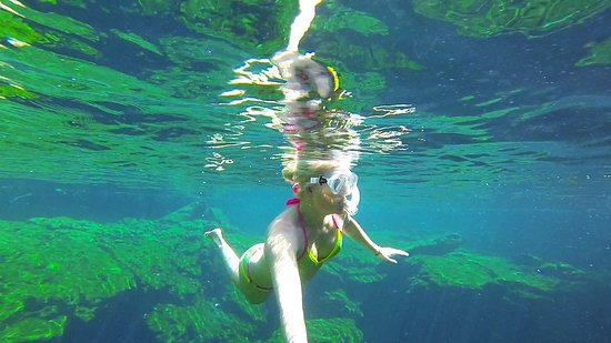 Yucatan, Meksiko: Beautiful clear water