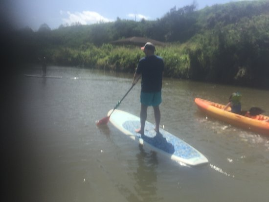 Sea and Board Sports Hawaii: First time paddle boarder.