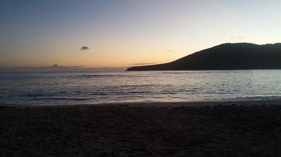Flamenco Beach Campground: Sunrise