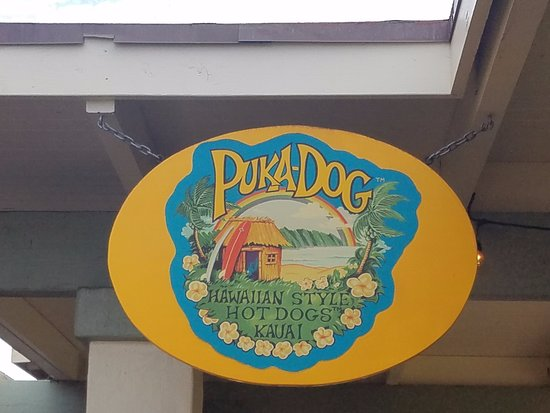 Puka Dog: Location- in an outdoor shopping area but not in a building.