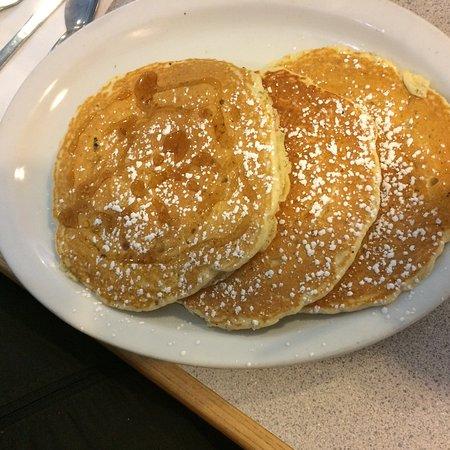 Westfield, MA: M & M pancakes.