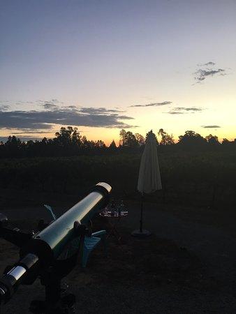 Wahgunyah, Australia: Even a telescope