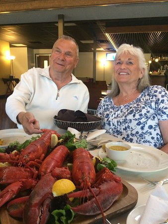 Lobster for 40th Anniversary Dinner at Chef Johnna's in Hot Springs Village, AR