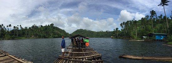 Lake Pandin: The trek, the raft, the food!