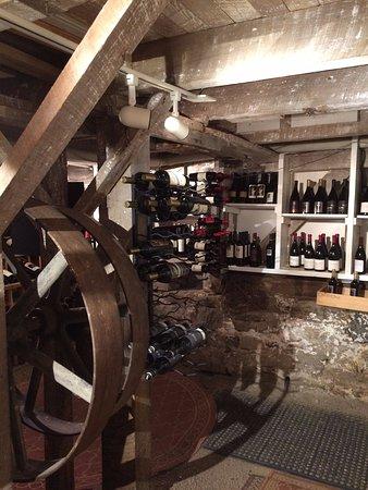 Warm Springs, VA: wine cellar