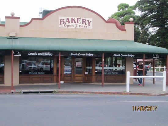 A coffee at Strathalbyn South Australia