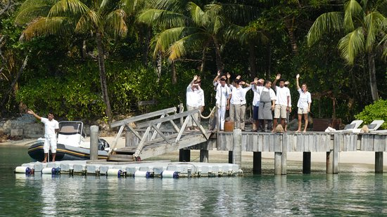 Song Saa Private Island: A warm welcome by all!