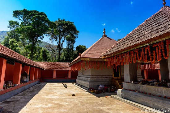 Kodagu (Coorg), India: A view of the temple