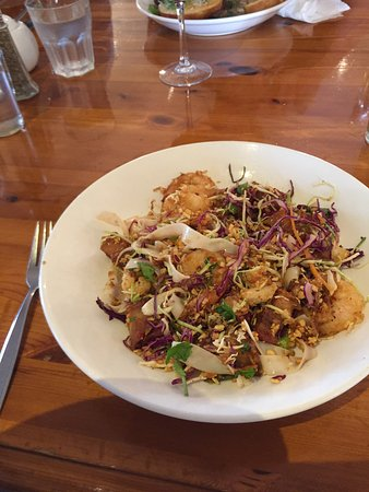 Carterton, New Zealand: Asian Salad (the picture does not do it justice)