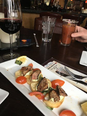 cafe tuscano: Yummy appetizers