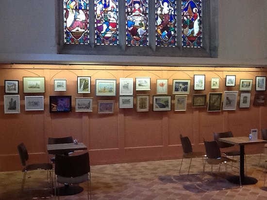 All Saints Church: The church also hosts occasional art and photographic exhibitions