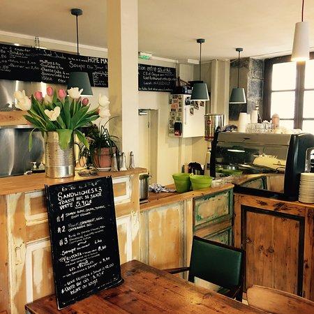 Australian Coffee House: Notre espace d'accueil.