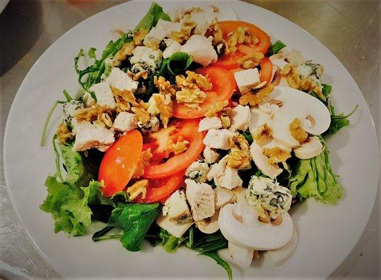 Salade proposée à l'Australian Coffee House.