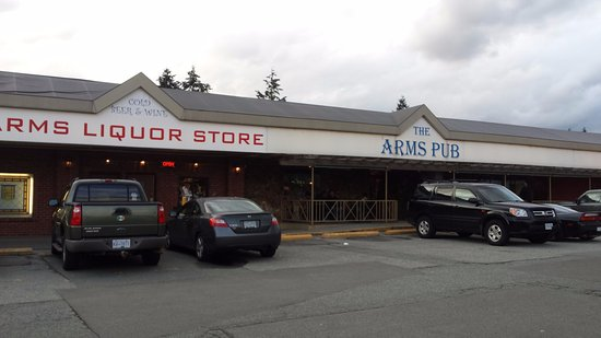 Port Coquitlam, Canada: Strip Mall location. Used to be called Meridian Arms Pub.