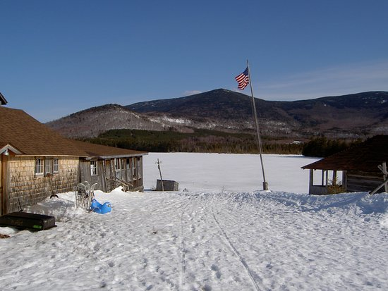 Greenville, ME: The view of the ridge across West Branch Pond