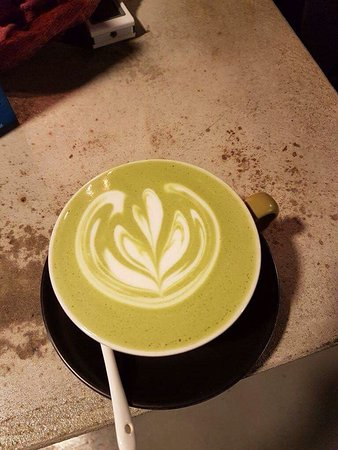 Co ai uong green coffee chua