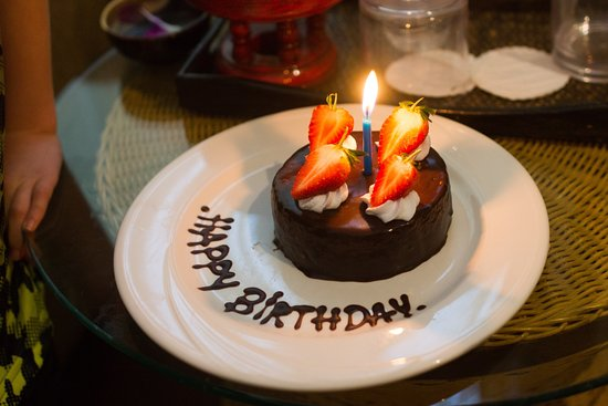 Khum Phaya Resort & Spa, Centara Boutique Collection: Birthday cake brought to your room upon request.