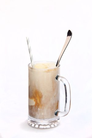 Livingston, MT: Frosty mug, filled to the brim with hand crafted root beer and  locally made vanilla ice cream,