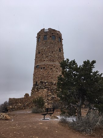 ‪Grand Canyon Desert View Watchtower‬