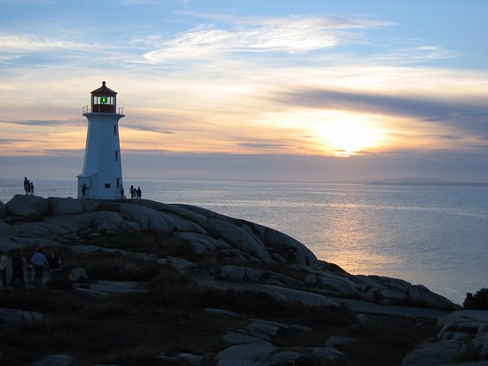 Peggy's Cove, Kanada: Evening Skies