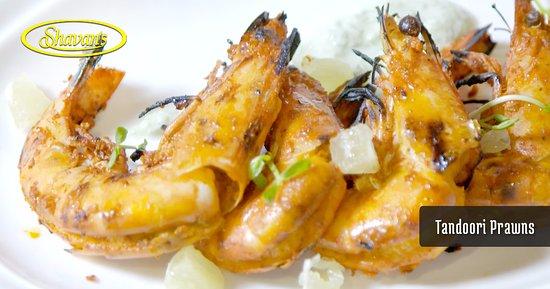 Shavan's Indian Restaurant: Entree Tandoori Garlic Prawns
