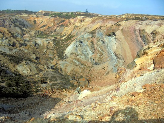 Amlwch, UK: Worked out copper mine