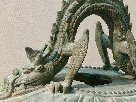 Yinchuan, Cina: dragon handle