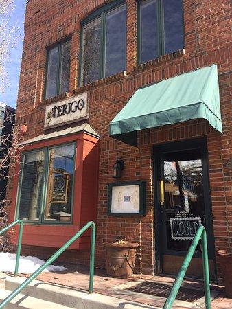 Cafe Terigo: outside of restaurant