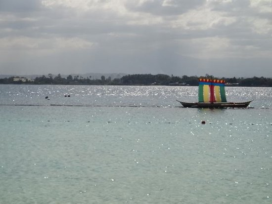 Paradise Island Park & Beach Resort: paradise beach in samal island