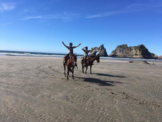 Golden Bay, Nowa Zelandia: Cape Farewell Horse Treks