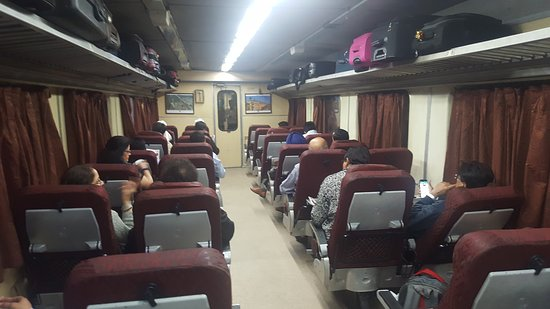 Shatabdi Express (Madhya Pradesh) - All You Need to Know ... Shatabdi Express Executive Class