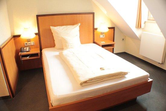 Gunzenhausen, Duitsland: Einzelzimmer Deluxe