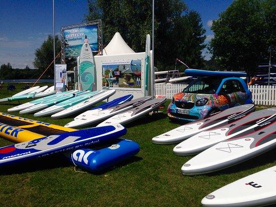 Pfofeld, Allemagne : Große Auswahl an SUP-Markenprodukten