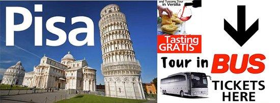 PISA & Versilia Tour