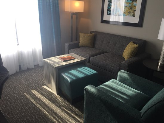 Homewood Suites by Hilton Asheville- Tunnel Road: Living room area
