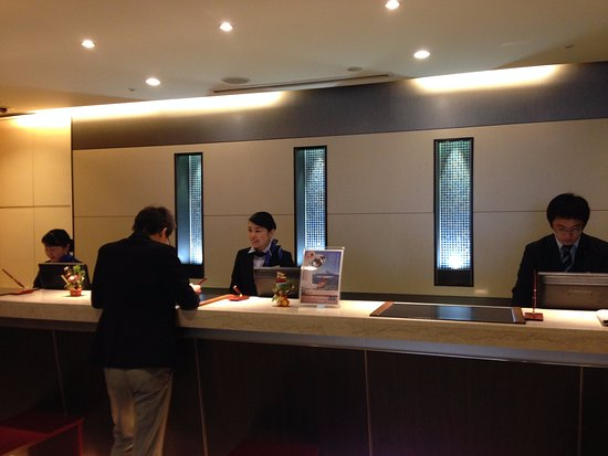 Hotel MyStays Nagoya Sakae: reception