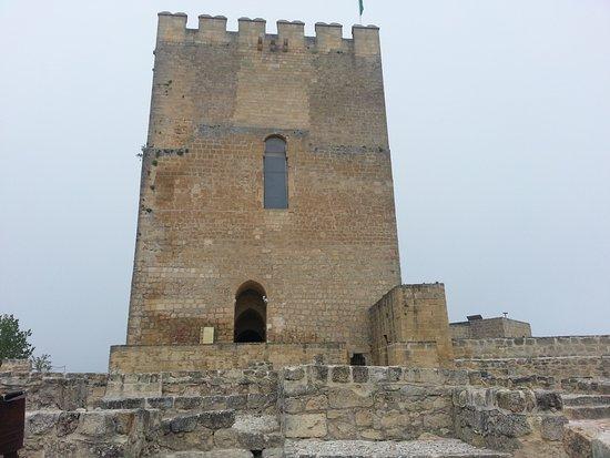 Alcalá la Real, España: Foto tomada desde el interior del castillos de la Mota