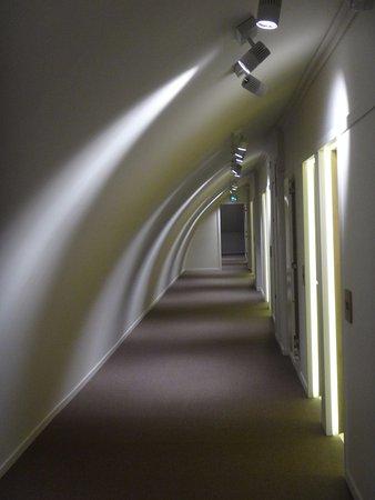 Fontevraud L'Hôtel : le couloir du 3e