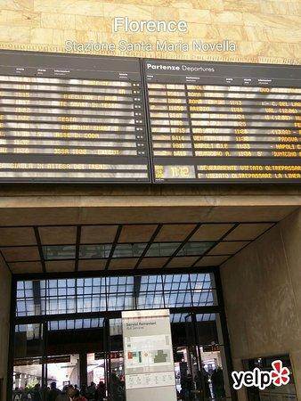 Photo of Monument / Landmark Stazione di Firenze Santa Maria Novella at Piazza Della Stazione 1, Florence 50123, Italy